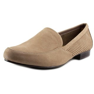 Naturalizer Letta Women Round Toe Leather Tan Loafer