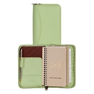 Scully Planner Soft Lamb Leather Address Zipper