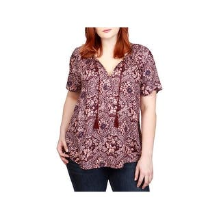 78984733dbf Quick View. Was  40.28.  5.57 OFF.  34.71. Lucky Brand Womens Plus Peasant  Top Blouse Paisley. SALE