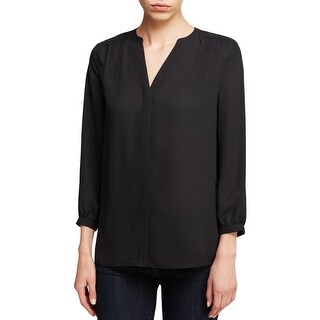 NYDJ Womens Button-Down Top Chiffon Pintuck (3 options available)