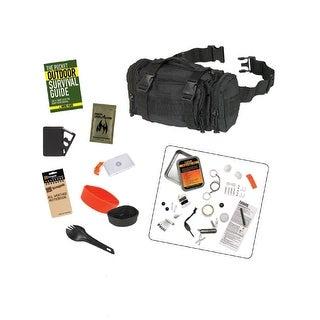 Snugpak 10-Piece Responsepak Survival Bundle - Black - BUN101