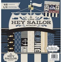 "Dcwv Single-Sided Paper Stack 12""X12"" 48/Pkg-Hey Sailor"