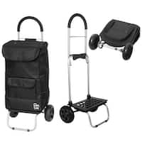 dbest products Trolley Dolly - Foldable Hand Cart and Bag