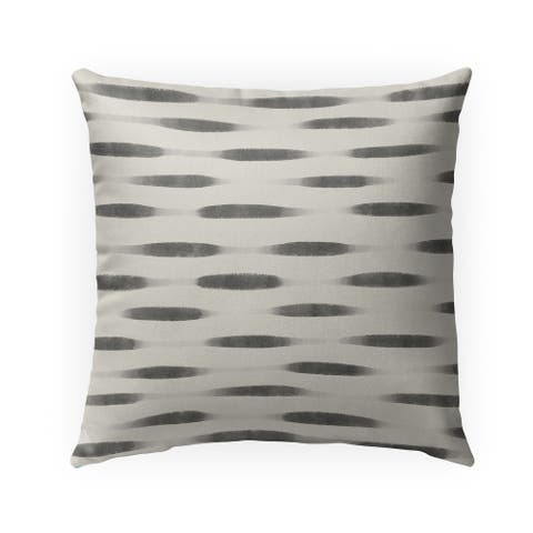 UNA CHARCOAL Indoor-Outdoor Pillow By Kavka Designs