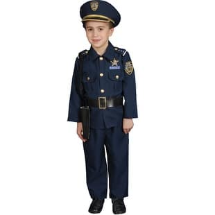 Boys Deluxe Police Officer Set Halloween Costume