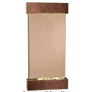 Adagio Whispering Creek With Bronze Mirror in Copper Vein Finish Fountain - Thumbnail 0