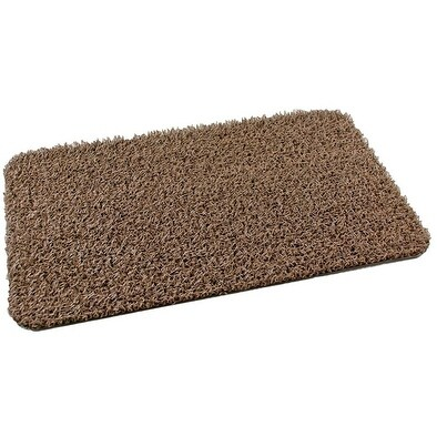 "Clean Machine 10372031 Floor Mat Plus Scraper, Astroturf, 29.5"""