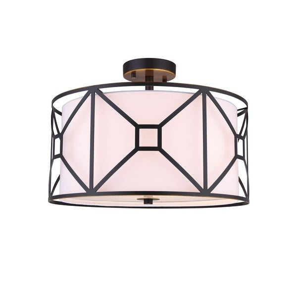 Shop Woodbridge Lighting 17135-S117A1 Regan 3-Light 17\