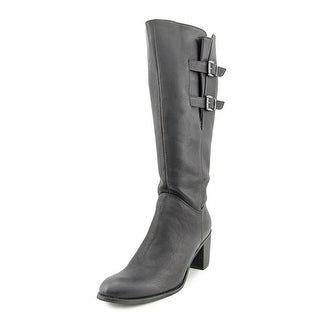 Two Lips Season Round Toe Synthetic Knee High Boot