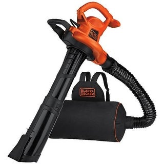 Black & Decker 232321 Backpack Leaf Blower Vacuum & Mulcher