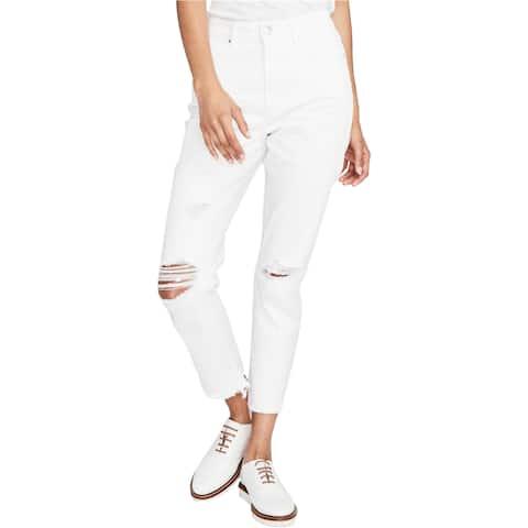 Rachel Roy Womens Destructed Cropped Jeans - 32