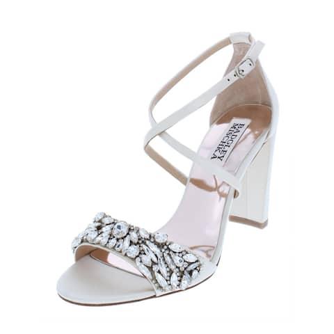 3a5a535fedd Badgley Mischka Womens Harper Dress Sandals Solid Embellished