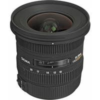 Sigma 10-20mm f/3.5 EX DC HSM Autofocus Zoom Lens for Canon Cameras - Black