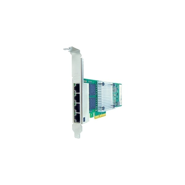 Axiom PCIe 1Gbs Quad Port Copper Network Adapter for HP Quad Port Fiber Network Adapter