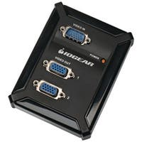 Iogear 2-Port Vga Video Splitter For Analog Displays, Gvs62