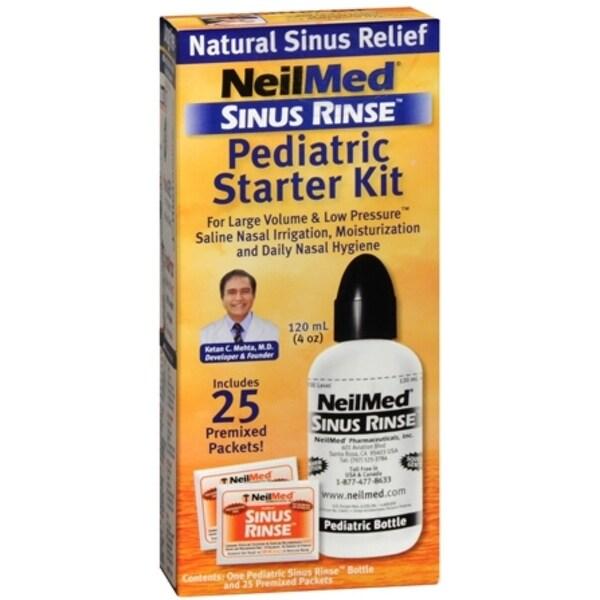 NeilMed Sinus Rinse Pediatric Starter Kit 1 Each