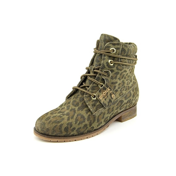 Bronx Mixer Up Round Toe Suede Ankle Boot