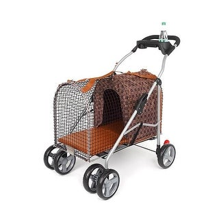 Kittywalk Classic Pet Stroller Royale 26 x 14 x 35.5""