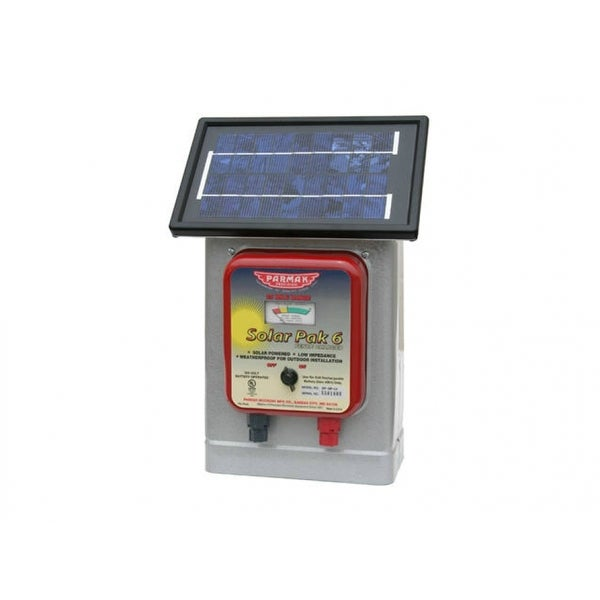 Shop Parmaka Df Sp Li Solar Powered Electric Fence Charger