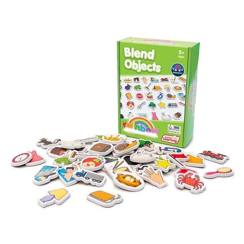 Blend Objects Educational Learning Set - White