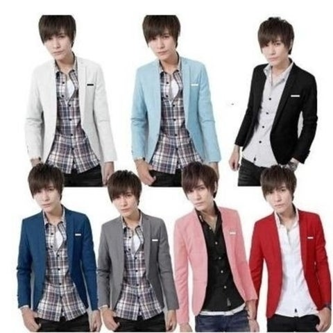 New men's casual Slim small suit jacket