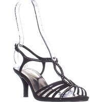 Caparros Sabrina Dress Sandals, Black Glimmer - 9 us
