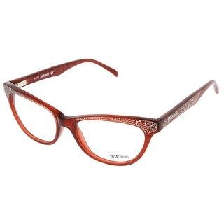 Just Cavalli JC0468/V 066 Burnt Umber Cat-Eye Optical Frames - Burnt Umber - 52-16-140