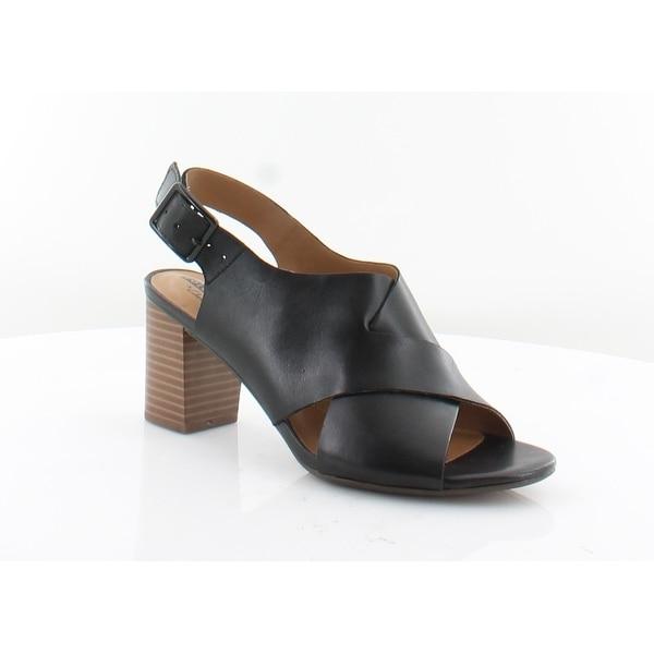 7b5059cc833 Shop Clarks Deva Janie Women s Sandals Black - 7 - Free Shipping ...