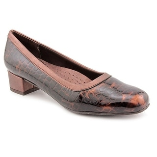 Trotters Dora N/S Square Toe Leather Loafer