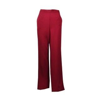 Alfred Dunner Villa D'Este Pull On Straight Leg Trousers Pants - 8