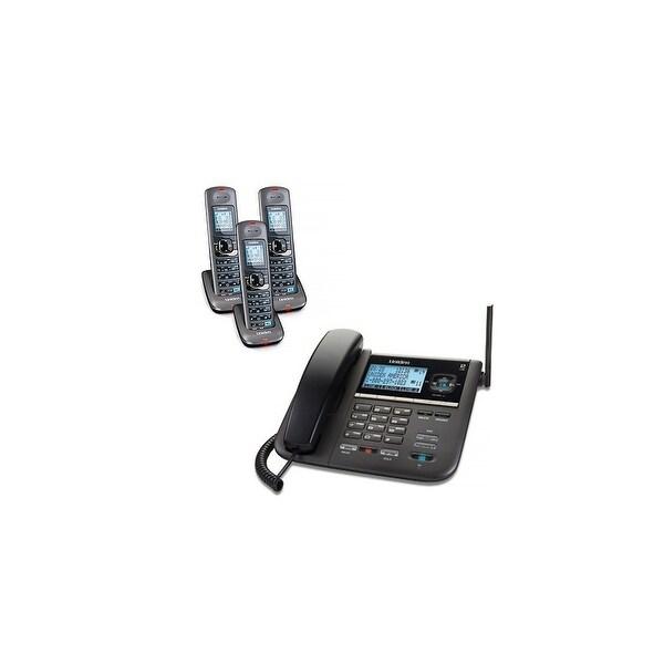 Shop Uniden DECT4096-3 Corded/Cordless 2-Line Phone w/ 3