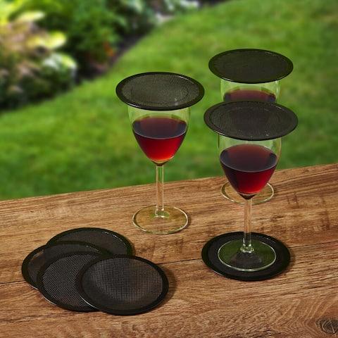 Gourmet Basics By Mikasa Bug Screen Drink Topper/Coaster