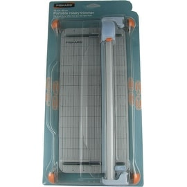 Fiskars 12 Inch Portable Rotary Paper Trimmer