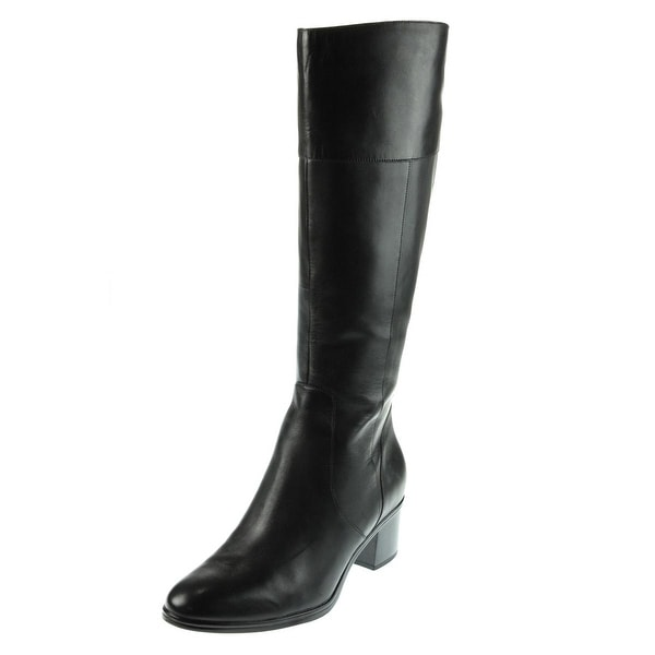 Naturalizer Womens Harbor Riding Boots Wide Calf Leather