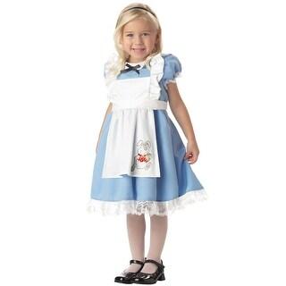 California Costumes Little Alice In Wonderland Toddler Costume - Blue