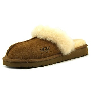 Ugg Australia Cozy Youth W Round Toe Suede Tan Slipper
