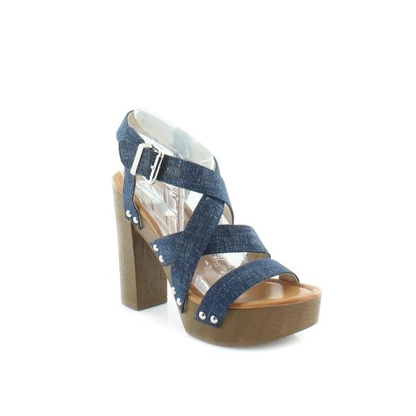 INC Camira Women's Heels Eclipse Blue