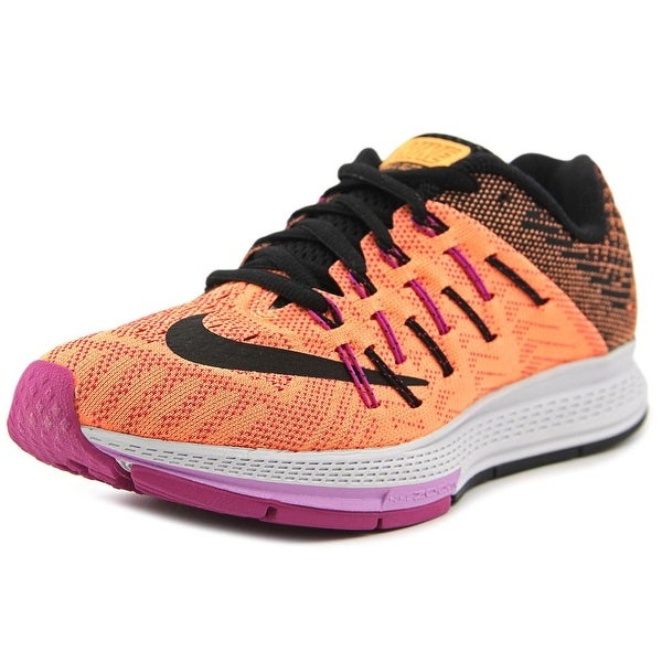 Nike Air Zoom Elite 8 Women Round Toe Synthetic Orange Running Shoe