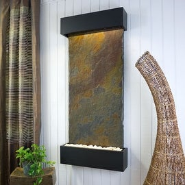 BluWorld Classic Quarry Vertical Indoor Wall Fountain - Raja Slate