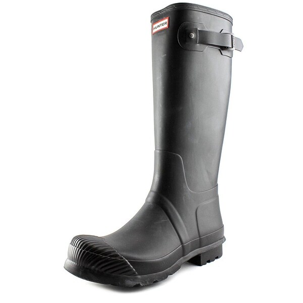Hunter Original Reflective Round Toe Synthetic Rain Boot
