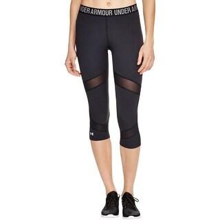Under Armour Womens Cool Switch Capri Pants Colorblock Heat Gear