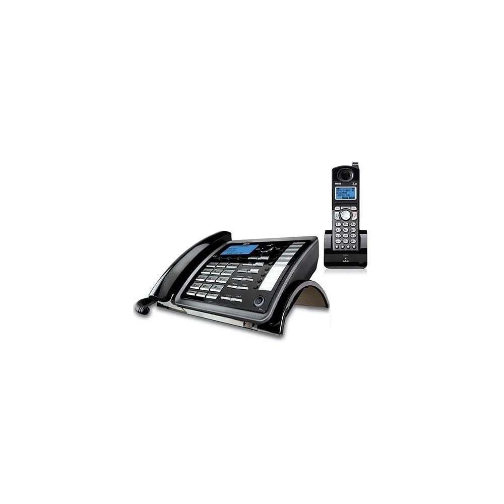 RCA ViSYS 25255RE2 DECT 6.0 2-Line Corded/Cordless Phone