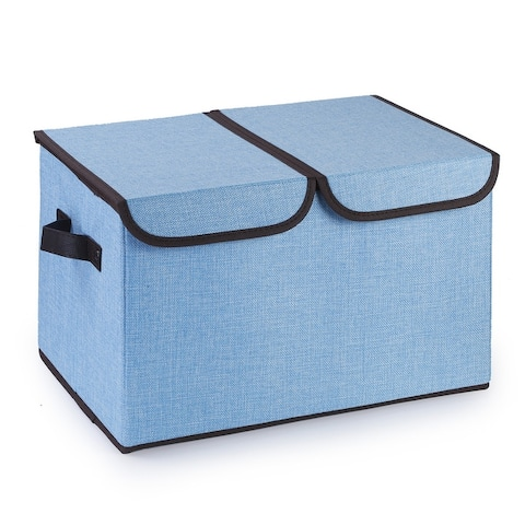 Enova Home Collapsible Storage Bins with Cover
