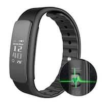 Image IP67 Waterproof Fitness Tracker Smart Watch Bracelet Band Heart Rate Monitor for Android iPhone