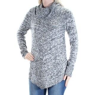 BCX $49 Womens New 1564 Black Jewel Neck Long Sleeve Sweater S Juniors B+B