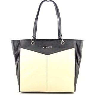 Nine West Trio Looks Women Faux Leather Tote NWT - Ivory