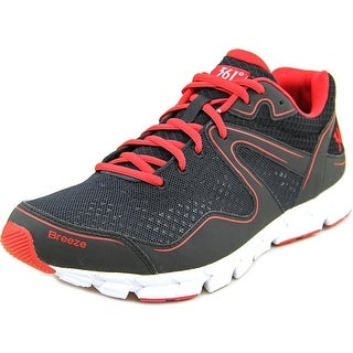 361 Breeze Men Black/Red Running Shoes