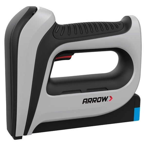 Arrow T50DCD Cordless Staple and Brad Nail Gun, 16 Gauge, Gray/Black