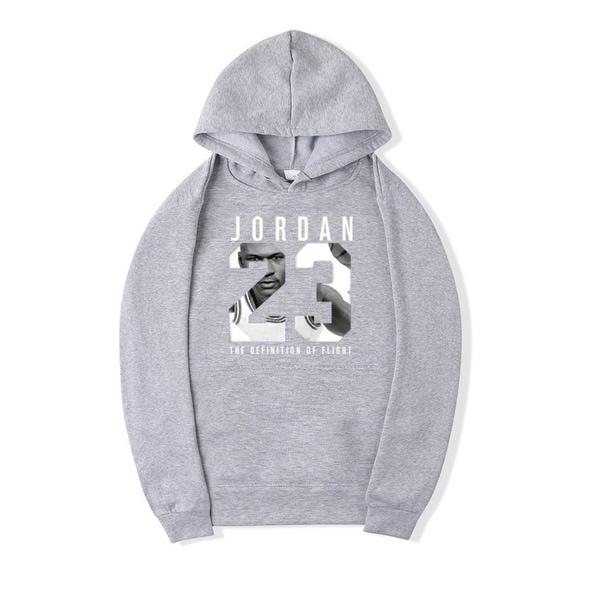 Shop 2018 Sweatshirt Hoodies Women Men s Casual Players JORDAN 23 Print  Hedging Hooded Fleece Hoodies Pullover - Free Shipping On Orders Over  45  ... f68f10acc