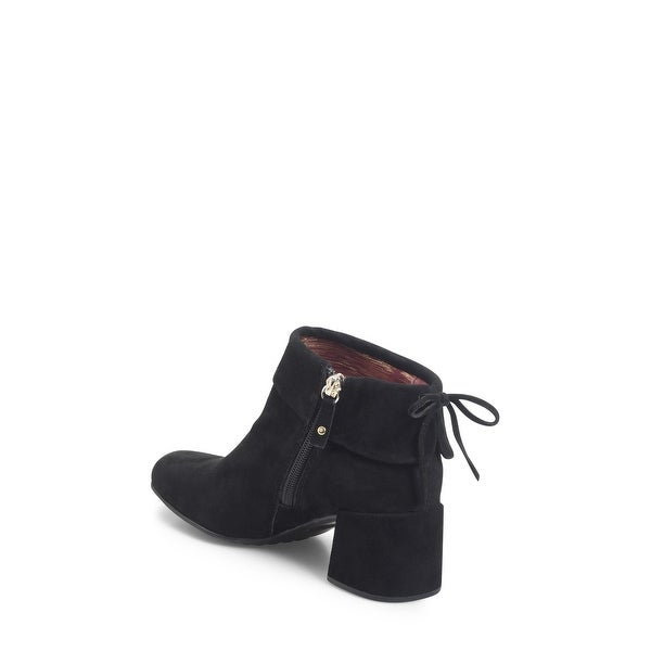 Ono Womens murray Suede Square Toe Ankle Fashion Boots